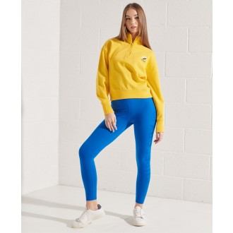Superdry dámská mikina Sportstyle Essential - Žlutá
