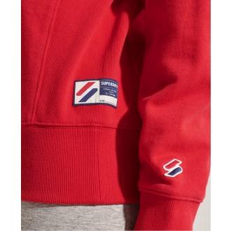 Superdry dámská mikina Sportstyle Essential - Červená