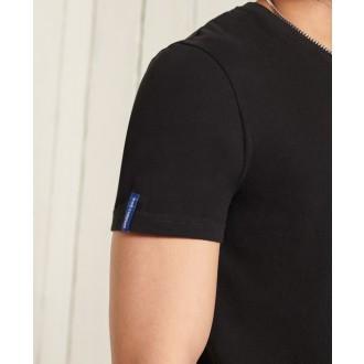 Superdry pánské triko Core Logo Workwear Standard Weight - Černá