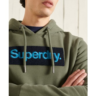 Superdry pánska mikina Cl Workwear - Zelená