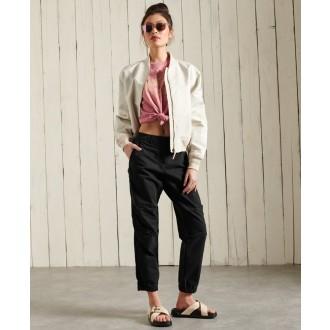 Superdry dámské triko Workwear Graphic - Růžová