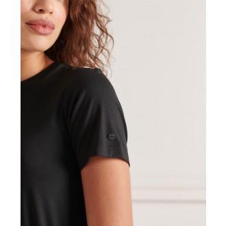 Superdry dámské šaty Drawstring - Černá