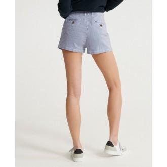 Superdry dámské krátké kalhoty Chino Hot - Bílá