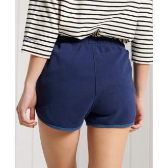 Superdry dámské teplákové krátké kalhoty Collegiate Union - Modrá