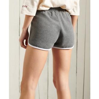 Superdry dámské teplákové krátké kalhoty Collegiate Union - Tmavě šedá