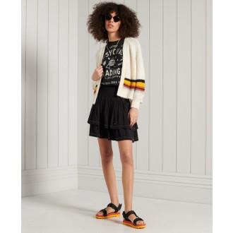 Superdry dámská sukně Ameer Mini Smocked - Černá