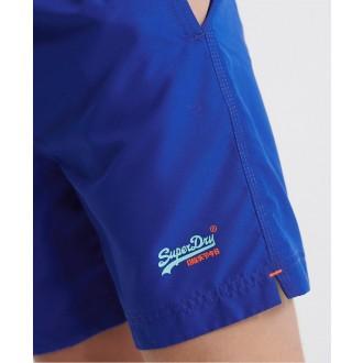 Superdry pánské plavky Waterpolo - Modrá