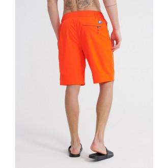 Superdry pánské plavky Classic - Oranžová