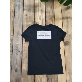 Retrojeans dámské triko SONIA - Černá