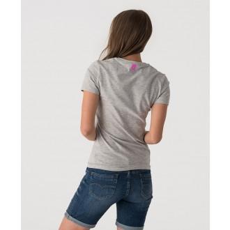 Retrojeans dámské triko IDONIA T-SHIRT - Šedá