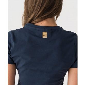 Retrojeans dámské triko JANNA - Tmavěmodrá