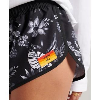 Superdry dámské kraťasy Surf Boardshorts - Černá