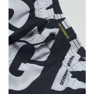 Devergo pánské plavky - černá / bílá