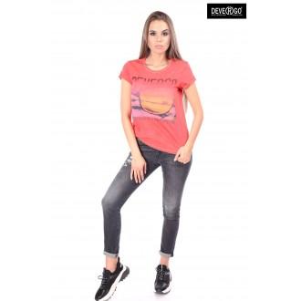 Devergo dámské triko - Červená