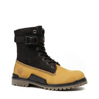 Devergo pánské boty CYGNUS - Žlutohnědá