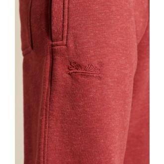 Superdry pánské tepláky Vintage Logo Embossed - Růžová