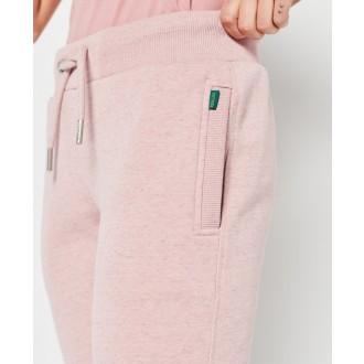Superdry dámské tepláky Vintage Logo Embroidered - Růžová