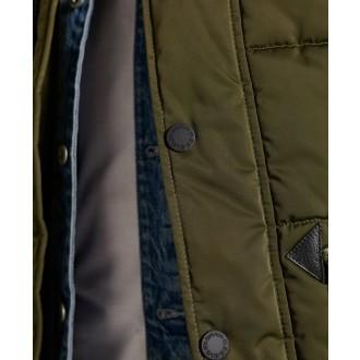 Superdry pánská bunda Chinook Parka 2.0 - Zelená