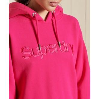 Superdry dámská mikina Cl Source - Růžová