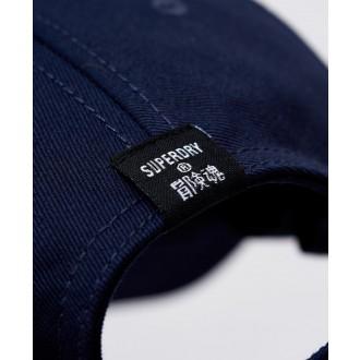 Superdry sportstyle Baseball Cap - Námořnická modrá