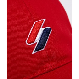 Superdry sportstyle Baseball Cap - Červená