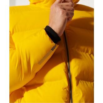 Superdry pánská bunda Training Heavy Padded - Žlutá