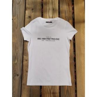Retrojeans dámské triko SONIA - Bílá