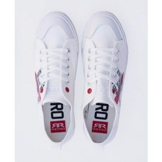 Retrojeans pánské tenisky CLAXTON 21 - Bílá