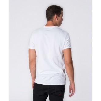 Retrojeans pánské triko ZENIT ROUND 20 - Bílá