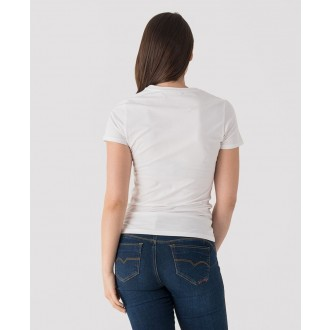 Retrojeans dámské tričko LENA - Bílá