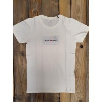 Retrojeans pánské tričko PEAK - Bílá