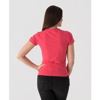 Retrojeans dámské tričko AMELIE T - Růžová