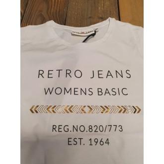 Retrojeans dámské tričko Enciu - Bílá