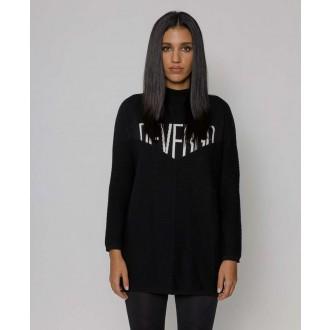 Devergo dámský pletený pulovr - Černá