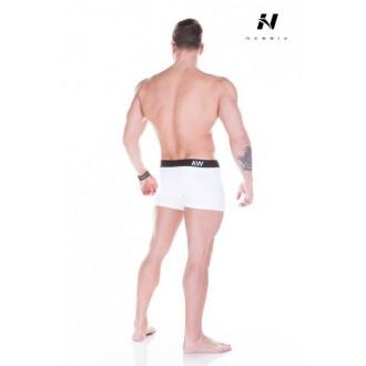 Nebbia Aesthetic Warrior Pánské boxerky - 101 Bíle
