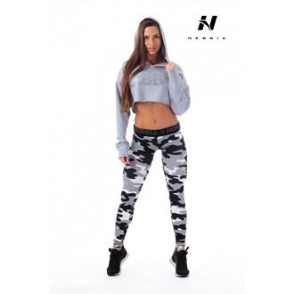 NEBBIA Crop top kapucka 275