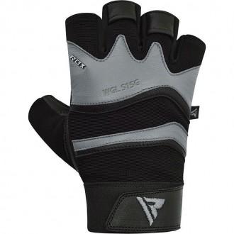 RDX S15 Fitness rukavice - Šedé