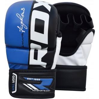 RDX T6 MMA Rukavice - Modré
