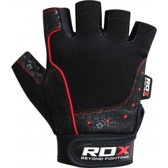 RDX Amara Fitness rukavice - Červené
