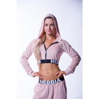 NEBBIA Dámska Mikina Velvet 636