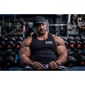 NEBBIA AW Gym tielko 726 Černé