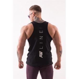 """NEBBIA AW 90""""s Muscle tílko 723 - Černé"""