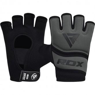 RDX Gelové bandáže rúk X6 - Šedé