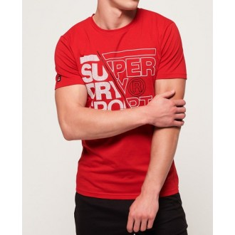 Superdry Pánské sportovní tričko CORE GRAPHIC