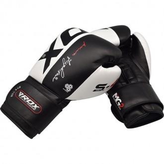 RDX Boxerské rukavice kožené S4