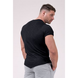 Nebbia pánské Muscle Back Tričko 172 - Černá