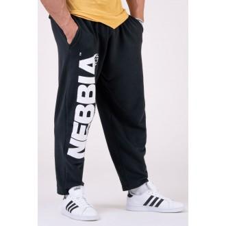 Nebbia pánské tepláky Best Mode On 186 - Černá