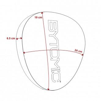 Bytomic Axis V2 Boxerské lapy - Červené