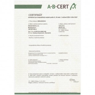 Zelená země CBD kokosový olej - 30ml