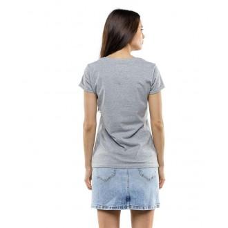 Devergo dámské triko 107 - Světle šedá